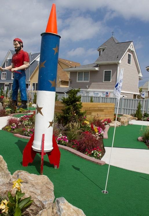 Barnacle Bills mini golf