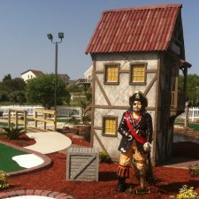pirate theme mini golf course design