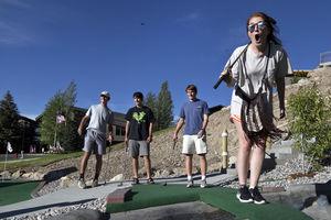 Snow King Mountain mini golf