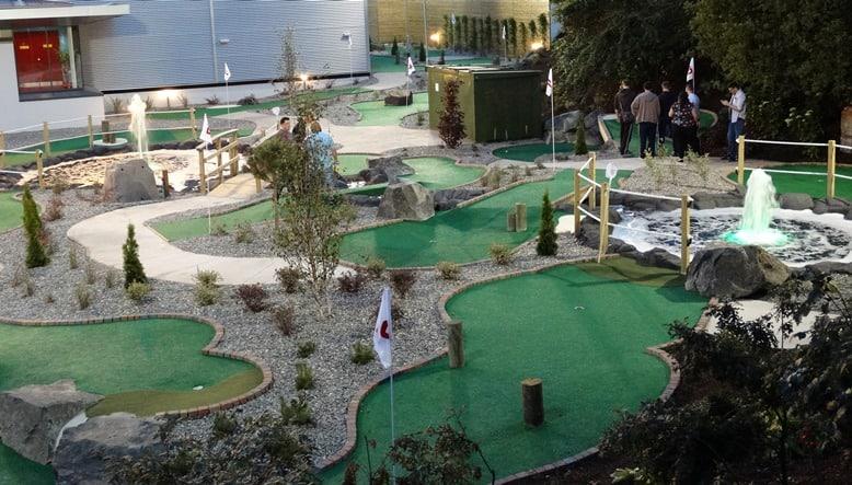 jet centre mini golf