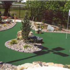 planters mini golf course design