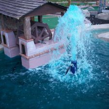 waterwheel mini golf course design
