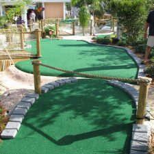 jump shot miniature golf course design