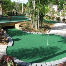 under course mini golf course design