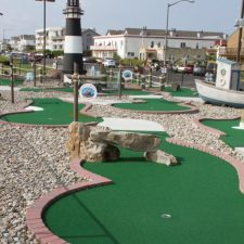 rock arch mini golf course design