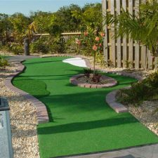 rose bush mini golf course design