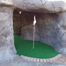 mini golf cave