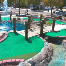 jump shot mini golf course design