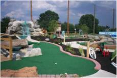 long mini golf course