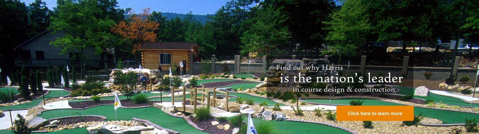 leading builder mini golf ga
